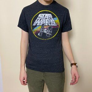 Vintage Design Official Star Wars Tie Fighter Tee